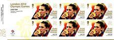 "2012 London Olympics Gold Medal Winners ""Laura Trott"" Unused Royal Mint Stamps"