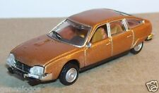 UNIVERSAL HOBBIES UH idem NOREV METAL HO 1/87 CITROEN CX 2000 MARRON 1975