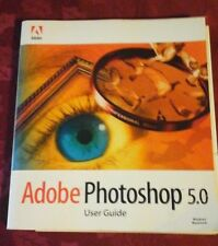 Adobe Photoshop 5.0 User Guide Book Only No Software Disc Included