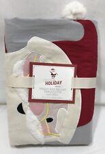 "Pottery Barn Kids Merry & Bright Christmas 70"" x 90"" Tablecloth"