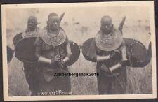 12450 AK Portrait Afrika Deutsche Kolonien Watussi Frauen Deutsch Ost-Afrika DOA