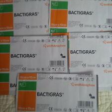 Bactigras 10cmx10cm x5 Dressings