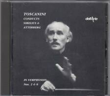 Toscanini Conducts Sibelius & Atterberg in Symphonies 2 & 6 (CD 1989) RAR!