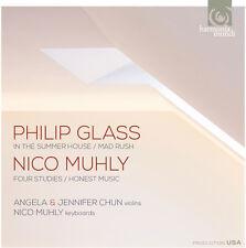 Glass / Angela Chun - In the Summer House, Mad Rush [New CD]