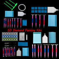 5D Diamond Painting Cross Stitch Embroidery Painting Accessories Pen Tools Set