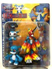 Digimon collectible DX figures - DemiVeemon V-Mon & Flamedramon Rare Set