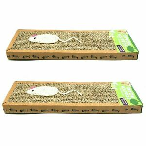 cat scratching post scratching board Kitten dog Toy Play Bed Sofa Safe Cardboard