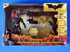 2005 Batman Begins Zipline Blaster Set w Batman Action Figure