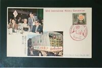 Japan 1961 Rotary Club First Day Cover - Z3536
