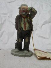 Flambro Emmett Kelly Jr Miniature Clown Figurine, Looking Out To See