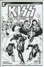 KISS: BLOOD and STARDUST #1 RODNEY BUCHEMI B & W SKETCH VARIANT COVER H - 1/10