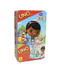 Disney Doc McStuffins Uno game By Cardinal Uno Card Game in Tin, New