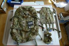 Brand New MYSTERY RANCH 3 Days with BVS Multicam Small yoke with extras