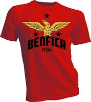 Benfica SLB Portugal UEFA Football Soccer Tee T-shirt Team Sports New handmade