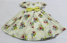 Boden Girl's Bow Woven Dress CD4 Ivory Posy Floral Size 6-7Y NWT