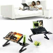 Adjustable Aluminum Laptop Desk Ergonomic Portable Table Notebook Stand Bed Tray