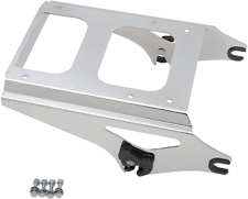 Drag Specialties Chrome Rear Quick Detach Tour Box Mount Rack 09-13 Harley FLHX