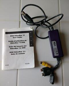 Belkin F5U208 VideoBus II + User Guide Manual only vtg electronics camcorder