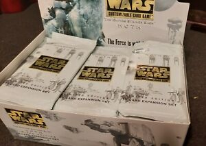 Star Wars Hoth Decipher CCG Cards Limited Edition Sealed Booster Pack