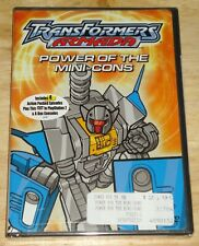 Transformers Armada : Power of the Mini-cons DVD New animation