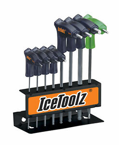 Icetoolz Pro Shop 8 Piece Hex and Torx Key Set