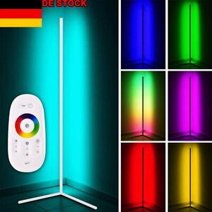 DE LED RGB Ecklampe Stehleuchte Eckleuchte Stehlampen Lichtsäule Farbwechsel