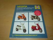 HAYNES VESPA SCOOTERS (05-14) Owners Repair Workshop Service Manual Handbook