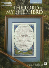 Psalm 23 THE LORD IS MY SHEPHERD Inspirational Counted Cross Stitch Pattern