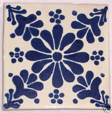 9 Ceramic Talavera Art Folk Handmade Mexican Tiles C032