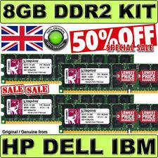 Trabajo Lote De 8 Gb (2x 2gb) Pc2-3200r Ecc Reg Ibm Eserver X226 X236 X260 X336 Pc2-3200