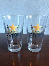 Sapporo Beer Glass (Set Of Two)