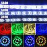 3528 5050 5630 5M 300SMD RGB Cool/Warm White LED Flexible Strip Light Waterproof