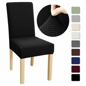 Dining Chair Covers Washable Stretch Chair Slipcover Removable Chair Protectors