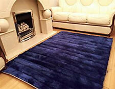 Linear 3D Carved Modern Luxury Silky Soft Floor Rug Mat Livining Room Bedroom