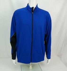 Under Armour Long Sleeve Jacket Blue Mens L