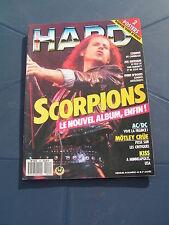 Hard Rock 42 1988 SCORPIONS KISS JOE SATRIANI GUNS'N'ROSES AC/DC EXODUS MOTLEY C
