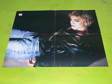 MADONNA - VINTAGE FRENCH PROMO BIO/POSTER FROM THE 80'S!!!!DIF!!!!!!!!!!!!!!