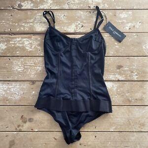 BNWT Dolce & Gabbana Mare Corset Swimsuit Bathing Suit Medium Le Bonitas