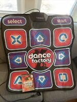 Dance Factory Game w/ Pad (Sony PlayStation 2, 2006) Dance To Any Music CD