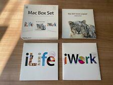 Mac Box Set - OSX Snow Leopard - iLife - iWork