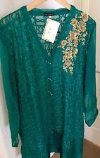 NWT Pakistani Designer Original Agha Noor Shirt Formal XL