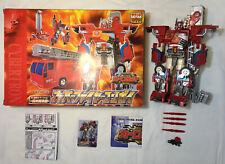 Transformers Car Robots Super Fire Convoy C-001 Complete W/Box Takara 2001