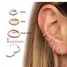 Women Nose Hoop Ring Ear Cartilage Lip Eyebrow Earring Auricle Helix Piercing
