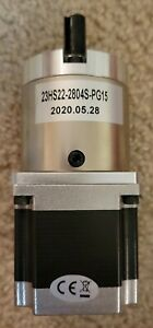 15:1 Planetary Gearbox Nema 23 Stepper Motor 2.8A L=56mm CNC Mill Lathe Router