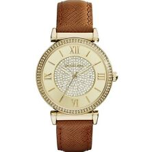 new with tag michael kors gold watch