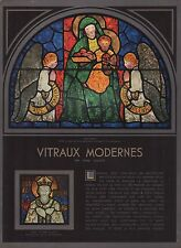 Doc.Ancien Vitraux Modernes Vitrail Stained glasses  1936  - 1i