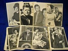 1963 T.C.G Topps John F Kennedy Trading Cards 66 of 77 vitage Lot (Set-11)