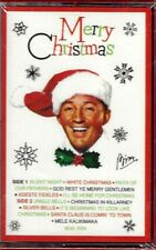 """BING CROSBY  """"MERRY CHRISTMAS""""  CASSETTE  *SEALED*"""
