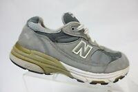 NEW BALANCE 993 Grey Sz 6 D Wide Women Suede Running Shoes