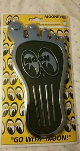 MOONEYES GAS PEDAL COVER LARGE FOOT RAT HOT ROD GASSER Dune Buggy R3034L